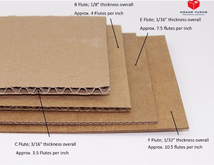 hộp giấy carton sóng