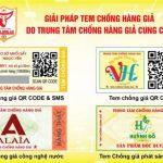 In tem chống giả để bảo vệ sản phẩm