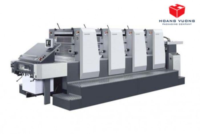 đầu tư máy móc ngành in