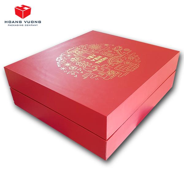 Bao bì giấy Hoàng Vương - Hộp đựng quà tết cao cấp 2020