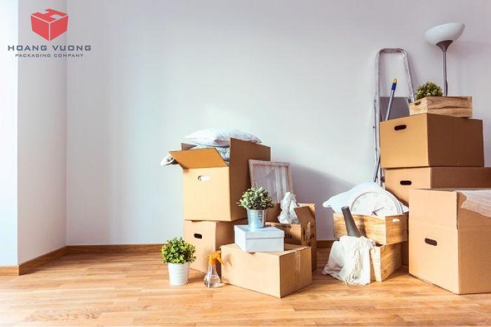 Sử dụng thùng carton đóng gói đồ đạc là sự lựa chọn hợp lý!