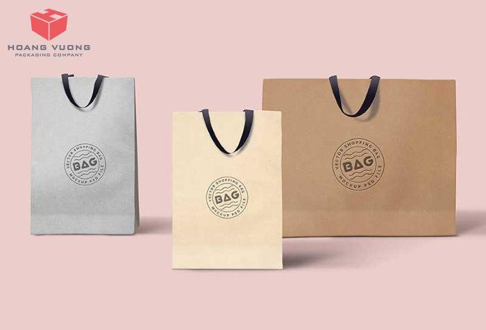 Mẫu túi giấy cho shop thời trang